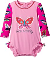Hatley Kids - Electric Butterflies Rashguard (Infant)