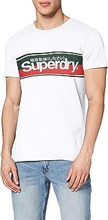 Superdry Core Logo Stripe tee Camisa para Hombre