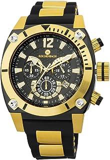Reichenbach - Reloj de caballero de cuarzo (con cronómetro) Schwartz, RB115-222