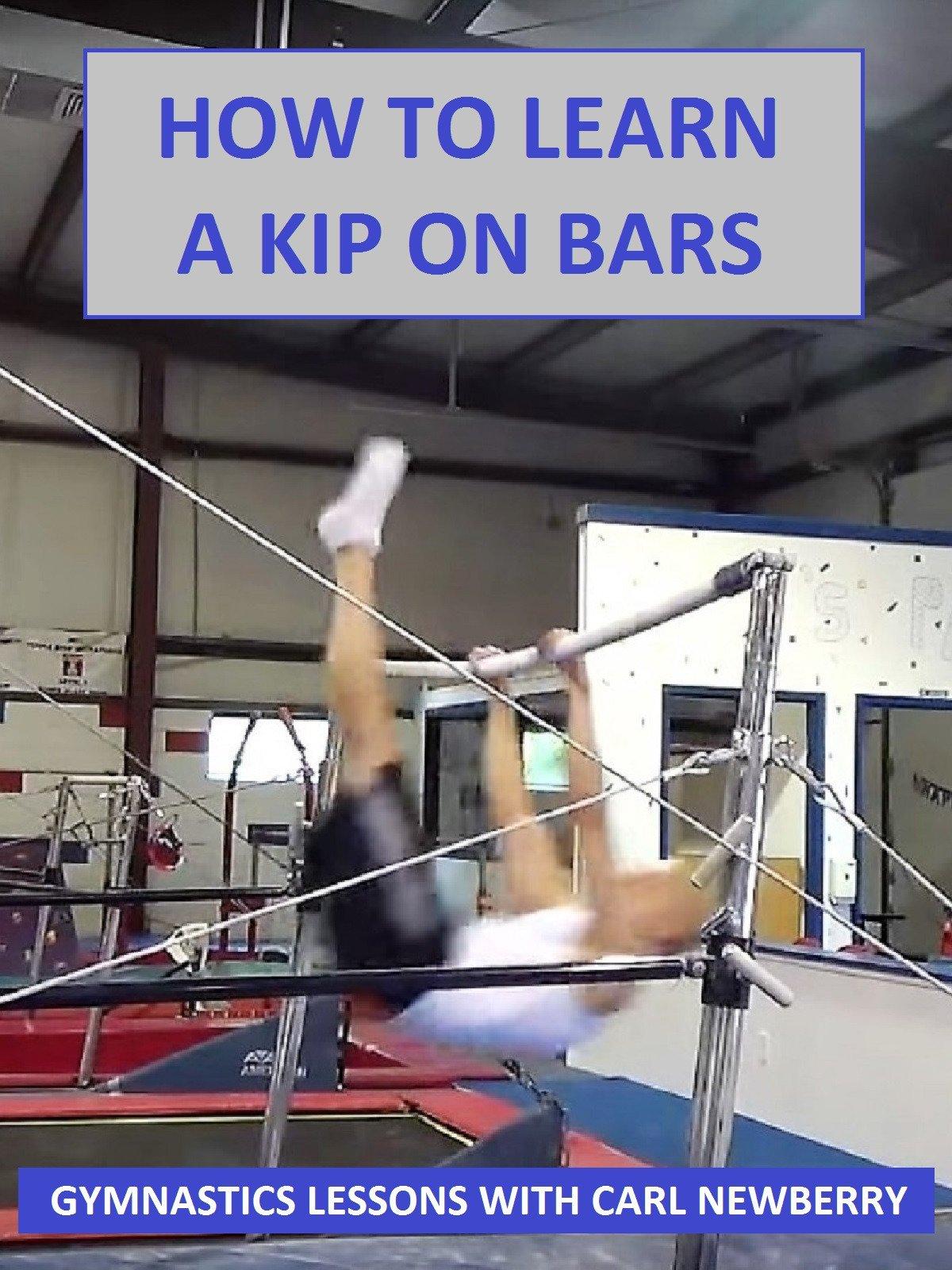 How Learn Kip Bars Gymnastics