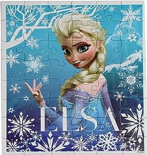 Disney Frozen Princesses Anna and Elsa 48 Piece Puzzles (Set of 2 Puzzles)