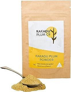 The Kakadu Plum Co Wild Harvested Kakadu Plum Powder. Pure Organic Vitamin C from the Australian Native Superfood. A Vegan...