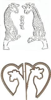 Art Impressions 4986 Twist Ties Stamp & Die Set Giraffe, Multicolor