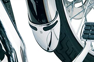 Kuryakyn 9016 Motorcycle Accent Accessory: Fender Extension on Narrow Front Fenders for Harley-Davidson Motorcycles, Chrome