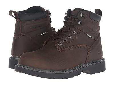 Wolverine Floorhand Steel Toe (Dark Brown) Men