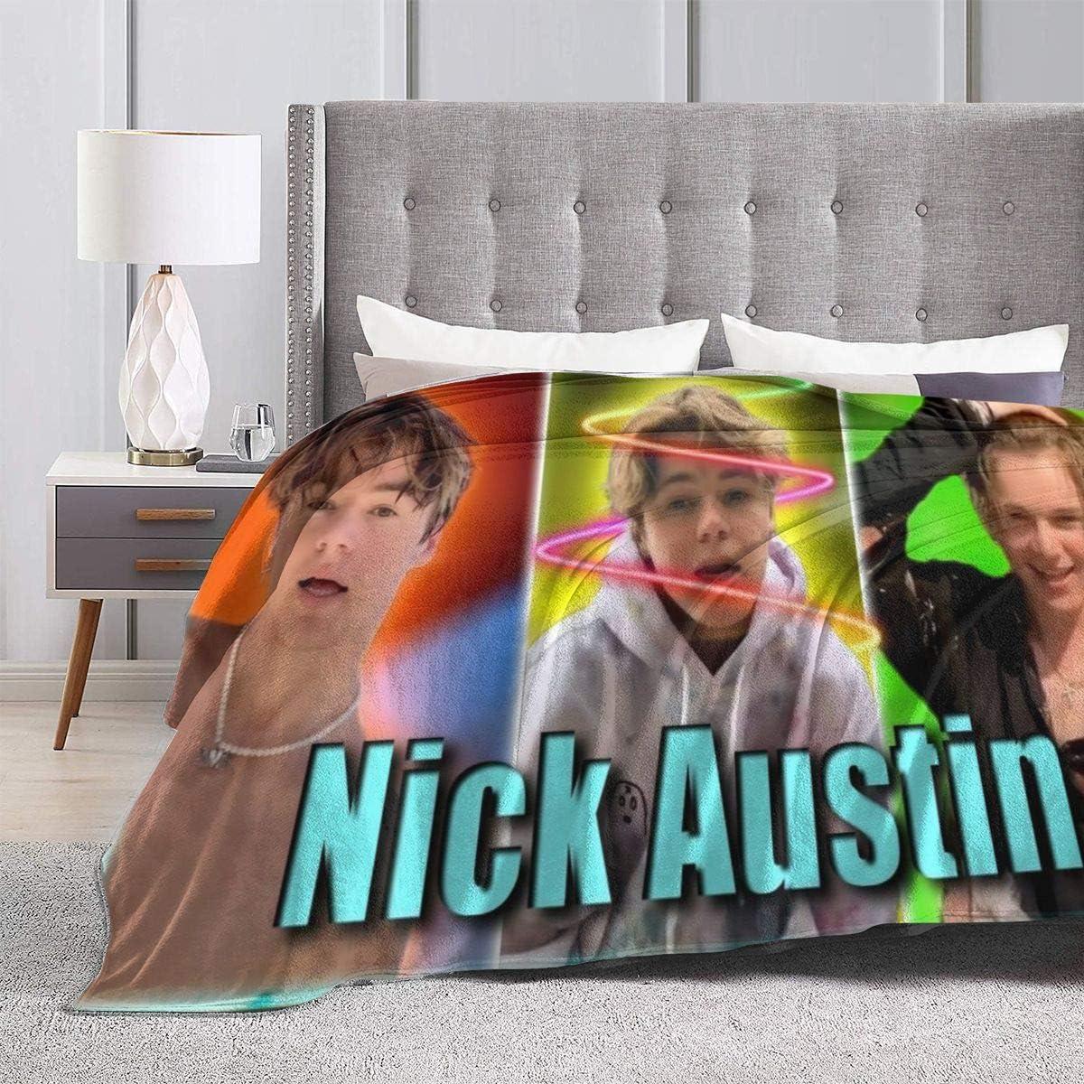 国内正規品 DouglassJWashington Nick Austin Blanket Microfiber Fleece Flanel 新品■送料無料■