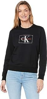 CALVIN KLEIN Jeans Women's Monogram Outline Box Sweatshirt