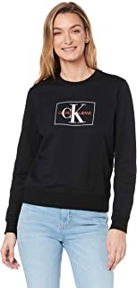 Calvin Klein Jeans Women's Monogram Outline Box Sweatshirt