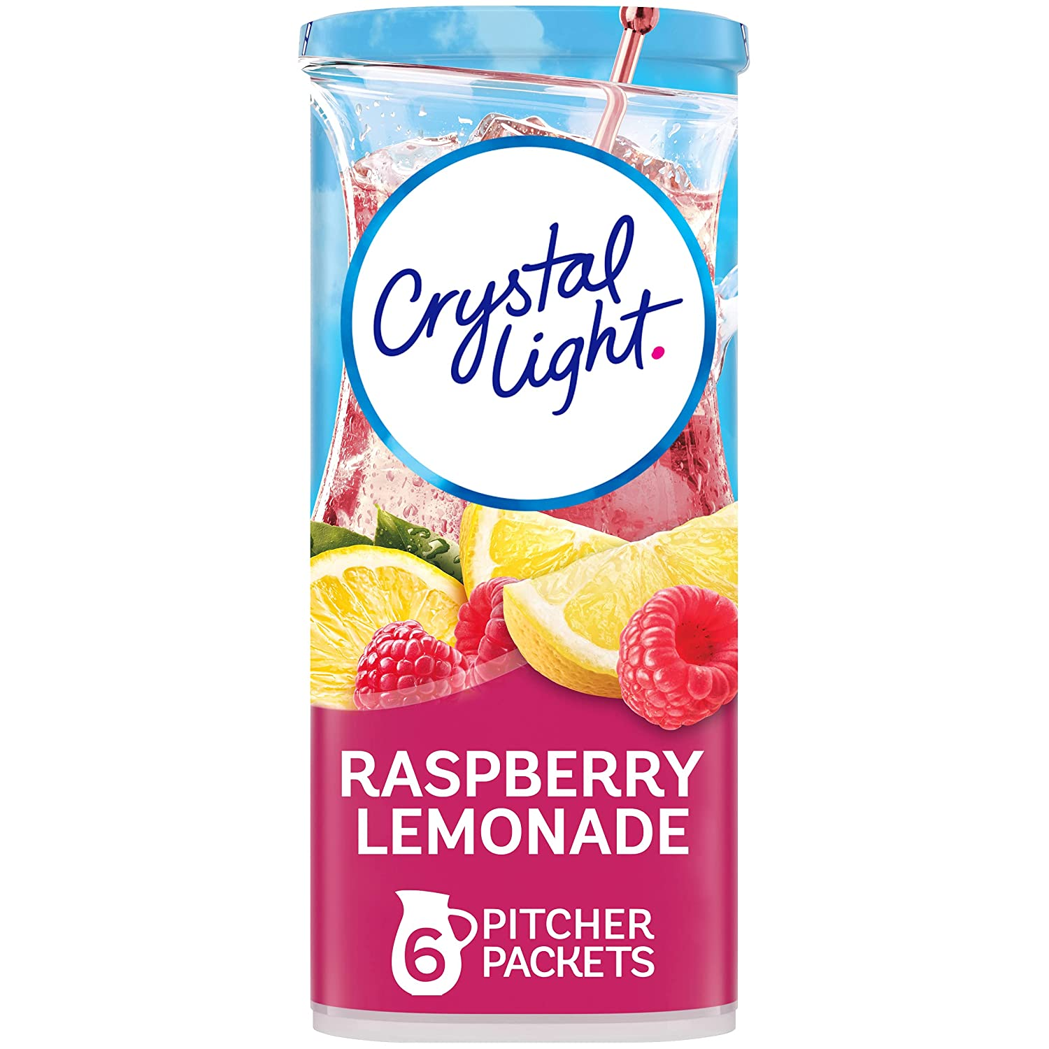 Crystal Light Raspberry Lemonade Drink Department store Packets Mix Pitcher Sale SALE% OFF 72