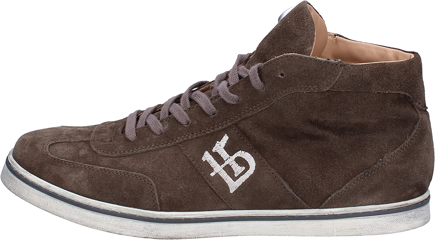 BOTTICELLI LIMITED Fashion-Sneakers Mens Suede Brown