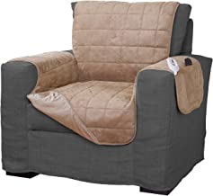 Serta | Quilted Electric Warming Furniture Protector, Pet Safe & Durable Easy Care..