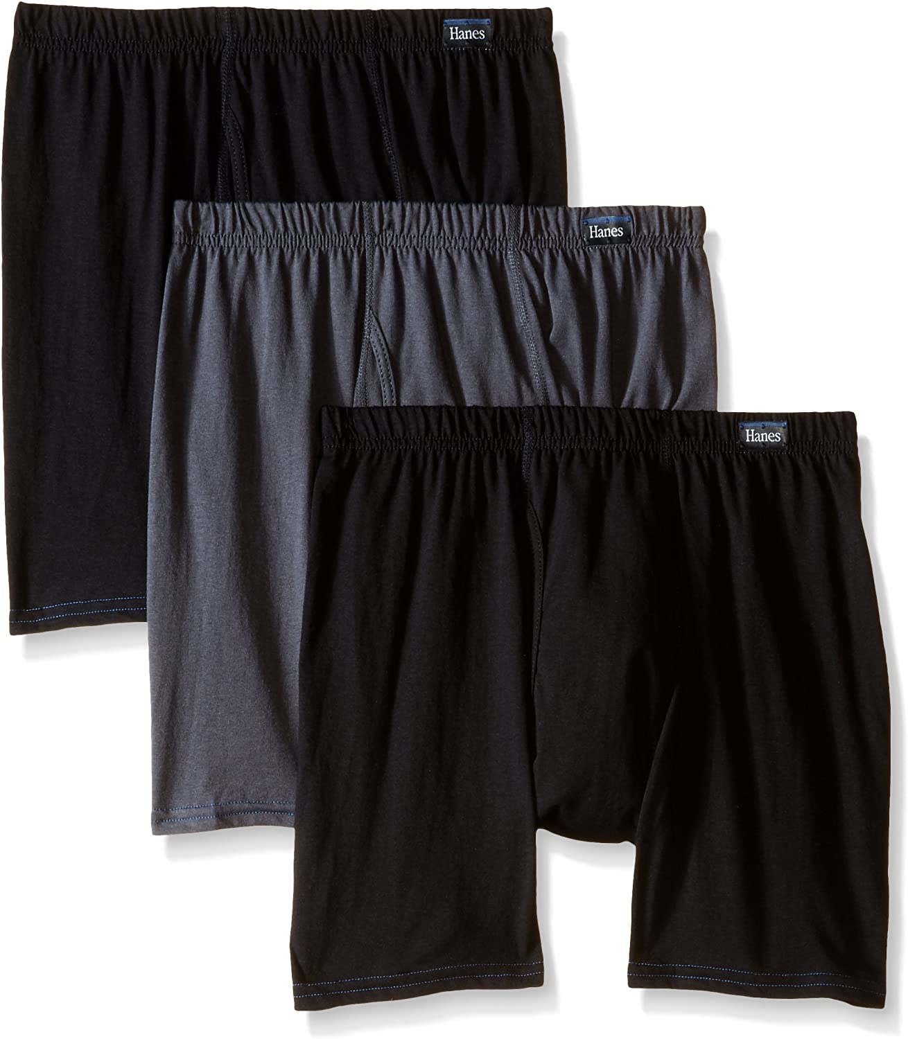 Hanes Men's 3-Pack Comfort Blend Boxer Brief with Comfortsoft Waistband