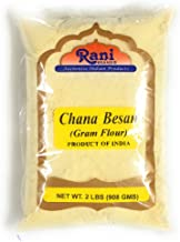 Rani Chana Besan - Chickpeas Flour, Gram 2lb (32oz) ~ All Natural | Vegan | Gluten Free Ingredients | NON-GMO | Indian Origin
