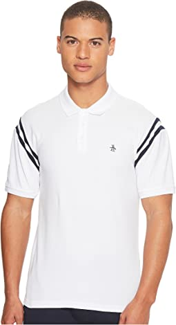 Original Penguin - Vintage Gym Short Sleeve Rib Shoulder Seam Polo