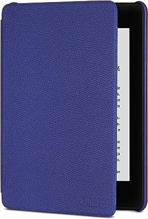 Capa de couro para o novo Kindle Paperwhite (10ª Geração – não compatível com as versões anteriores do Kindle Paperwhite) - Cor Roxa