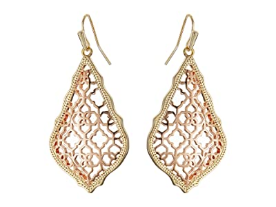 Kendra Scott Addie Earrings (Mixed Gold/Rose Gold) Earring