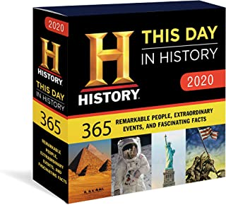 2020 History Channel This Day in History Boxed Calendar: 365 Remarkable People, Extraordinary Events, and Fascinating Facts
