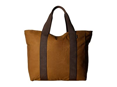 Filson Large Grab N Go Tote (Dark Tan/Brown) Tote Handbags