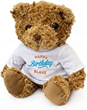 New - Happy Birthday Blake - Teddy Bear - Cute Soft Cuddly - Gift Present