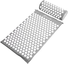 ProsourceFit Acupressure Mat and Pillow Set for Back/Neck Pain Relief and Muscle Relaxation