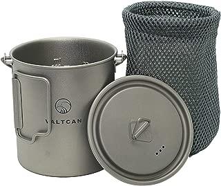 Valtcan 750ml Titanium Pot Mug Handle and Lid