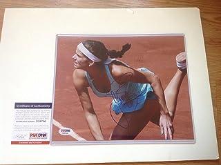 Julia Goerges Autographed Photo - SEXY 8x10 C - PSA/DNA Certified - Autographed Tennis Photos