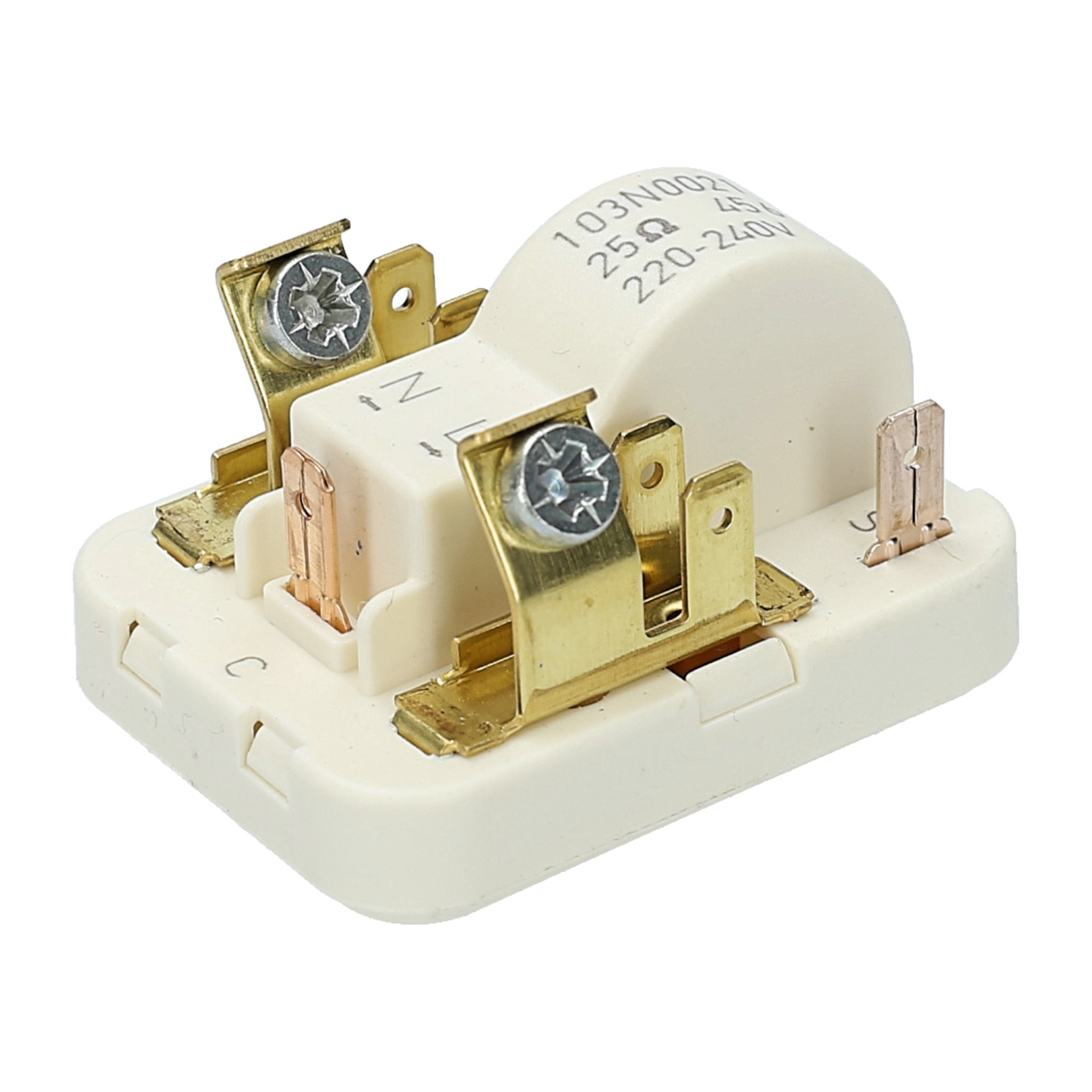 WESSPER® Relé de arranque compresor 103N0021 para Indesit BAN34NFP ...