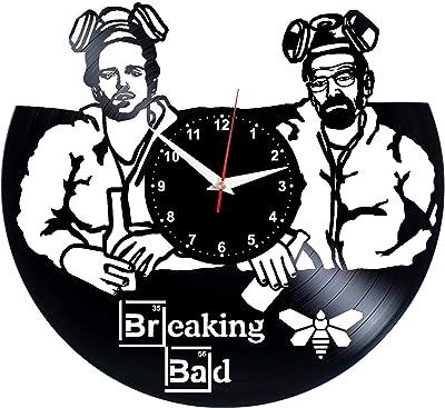 EVEVO - Reloj de Pared con diseño de héroe Americano, de Vinilo ...