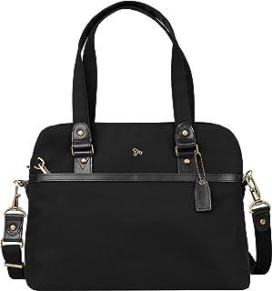 Travelon Anti-Theft Ltd Satchel, Black (Black) - 43093 500