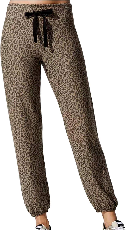 SUNDRY Leopard Sweatpants