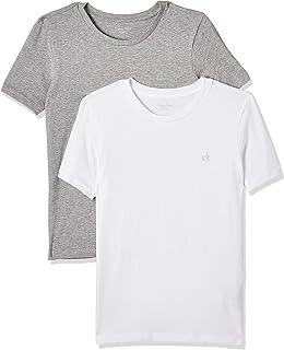 Calvin Klein Boy's 2 Pack Ss T-Shirt T-Shirts