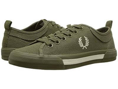 Fred Perry Horton Canvas (Burnt Olive/Ecru) Men