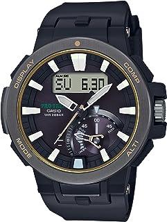[カシオ] 腕時計 プロトレック 電波ソーラー PRW-7000-1BJF ブラック