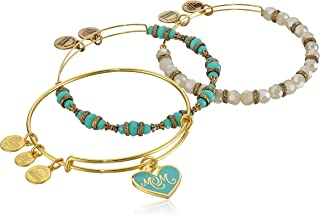 Color Infusion Set of Three Mom Bangle Bracelet