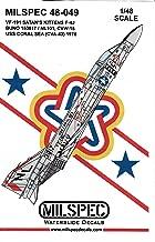MilSpec Decals CAMMS48049 1:48 F-4J Phantom II VF-191 Satan's Kittens USS Coral Sea 1976 Bicentennial Scheme [WATERSLID Decal Sheet]
