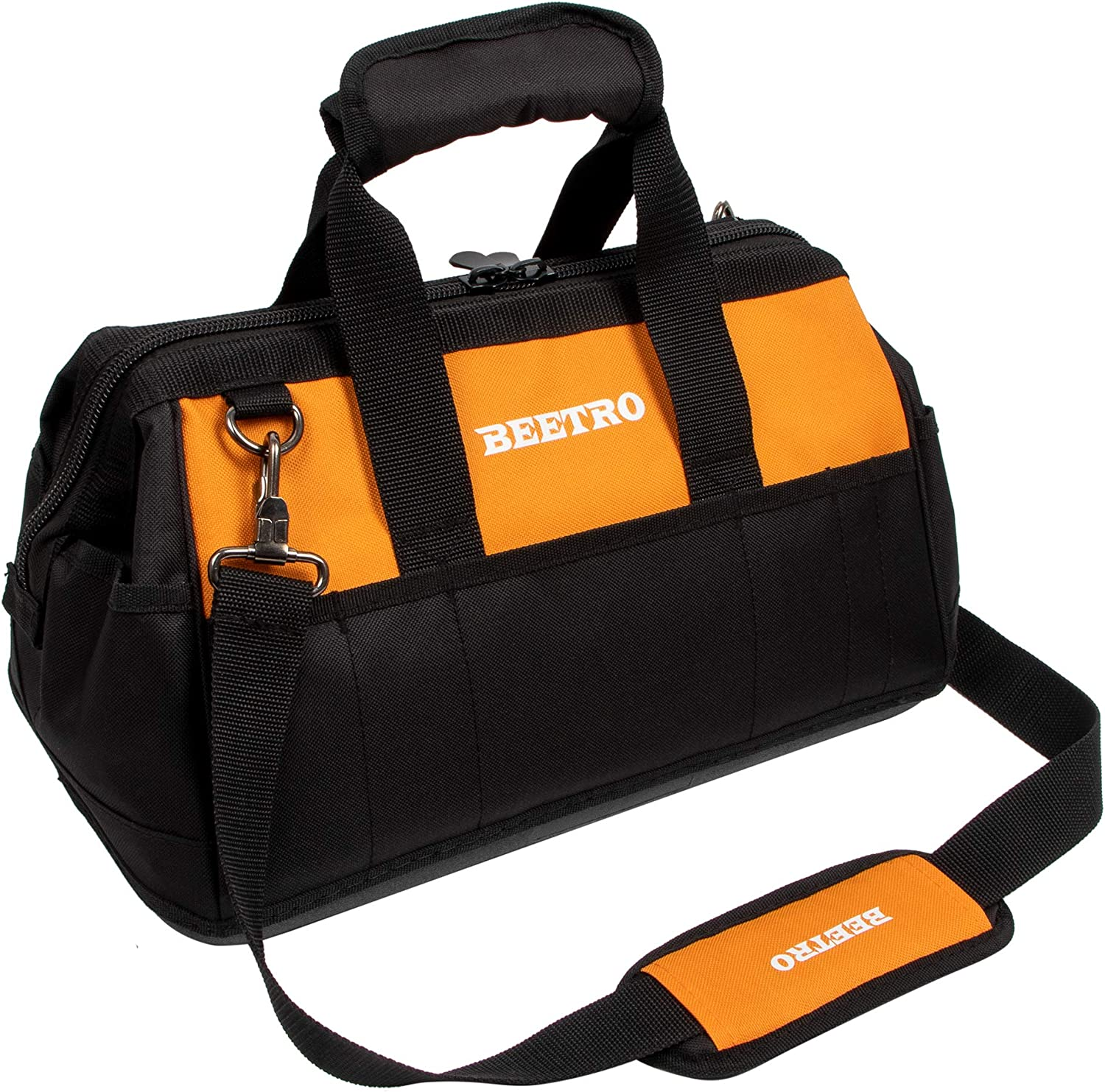 BEETRO 16.5-inch Wide Mouth Tool Shoulder with Bag Adjustable Cash special price Special price for a limited time S
