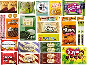 Korean Popular Snack, Cookies, Chips and Candies Variety Box (30 Count)…