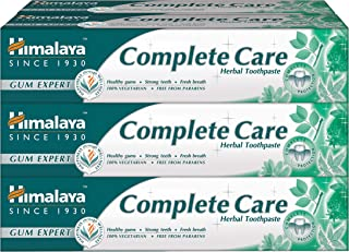 Himalaya Natural Herbal Toothpaste***Full Range***(Pack of 1/2/3/6) (Complete Care 75ML, Pack of 6)