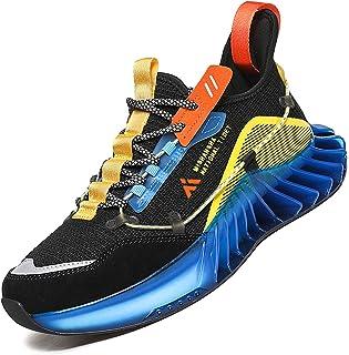 Mishansha Chaussures de Course de Running Homme Mode Décontractées Respirantes Trail Sneakers