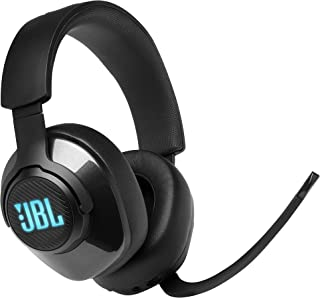 JBL Quantum 400 Wired Over-Ear Gaming with Microphone, PC and Console Compatible, in Black