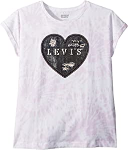 Levi's® Kids - Rolled Sleeve Knit Tee (Big Kids)