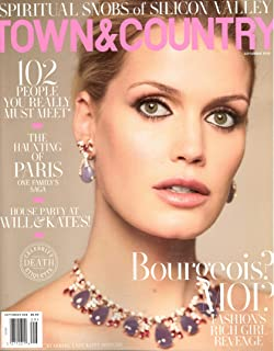 Town & Country Magazine (September, 2019) Lady Kitty Spencer Cover