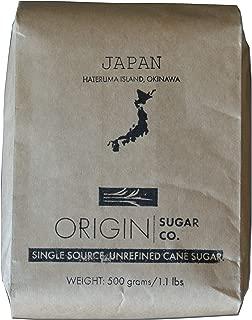 Origin Sugar Company - Raw, Unrefined Japanese