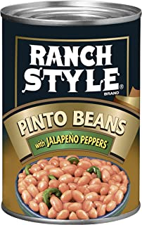 Ranch style Pinto Beans with Jalapenos, 425 g
