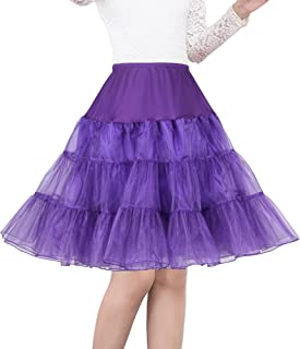 Shimaly Women's 50s Vintage Petticoat 26