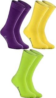 Hombre Mujer Calcetines de Felpa Calidos y Coloridos 3 Pares