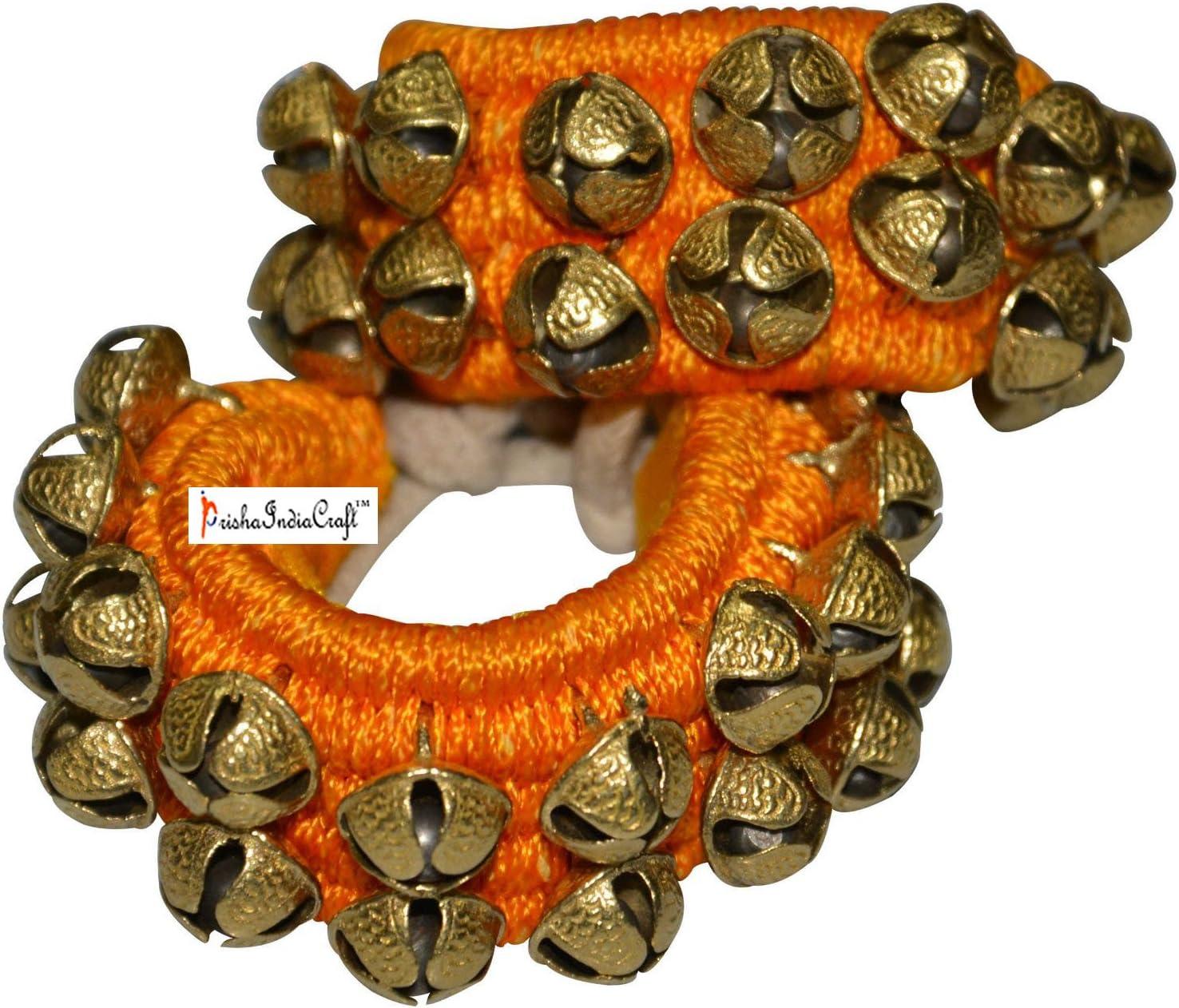 Prisha India Craft Kathak Max 48% OFF Ghungroo No. 16 2 Two Max 49% OFF Lin