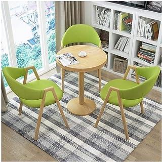 Mesa de comedor Juego de muebles Mesas y Sillas Inicio de la sala creativo silla de salón de la cocina Mesa de comedor y Juego de sillas simple 1 Tabla 3 sillas La negociación de negocios Cafetería