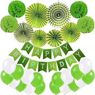 Best happy birthday banner green Reviews