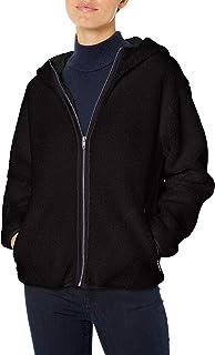 Amazon-Marke: Daily Ritual Damen Teddy Bear Hooded Zip Jacket